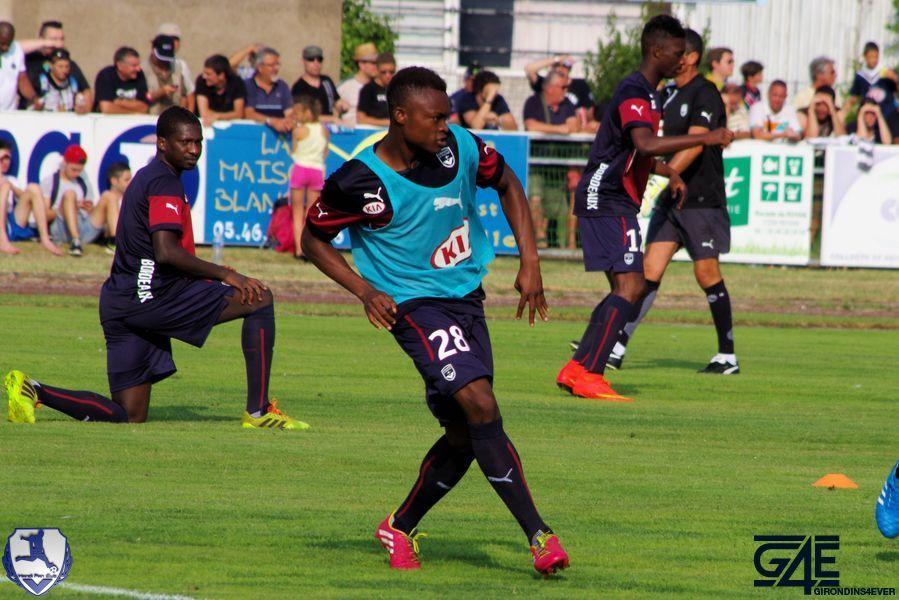 David Djigla passe Bordeaux-Nantes