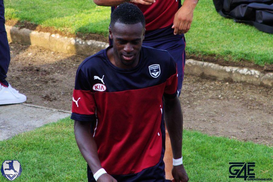 Maxime Poundjé tête basse Bordeaux-Nantes