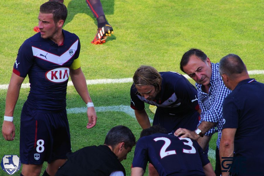 Lucas Orban soigné Bordeaux-Nantes