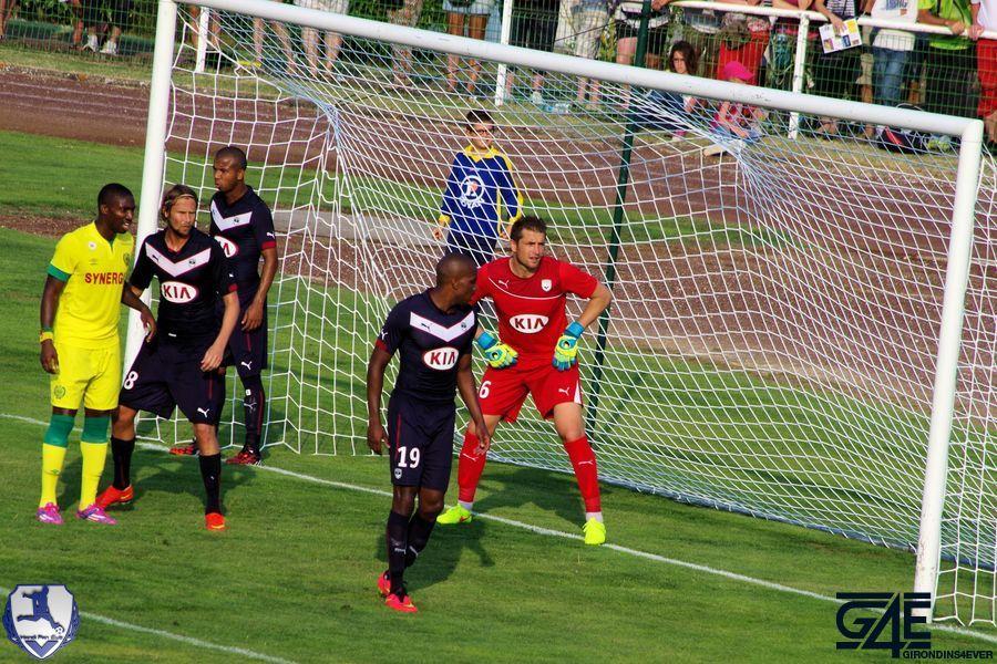 Cédric Carrasso dans sa surface Bordeaux-Nantes