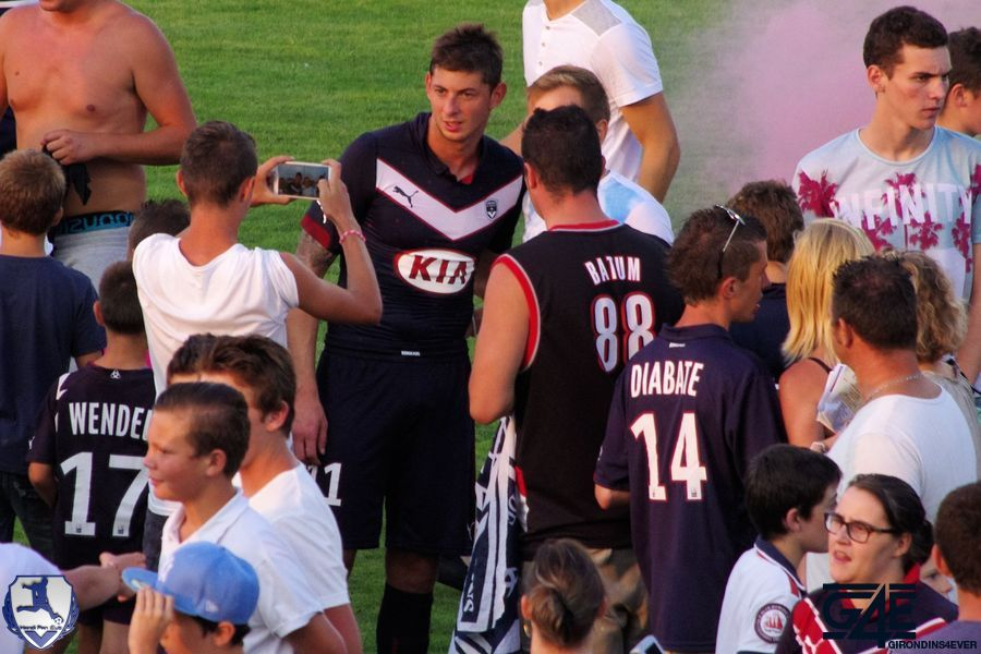 Sala supporters Bordeaux-Nantes