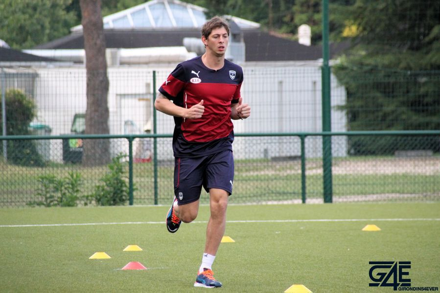 Emiliano Sala, tests physiques, reprise