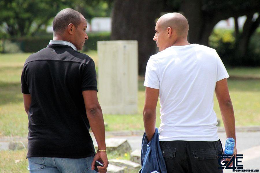 Wahbi Khazri et Franck Sylvestre