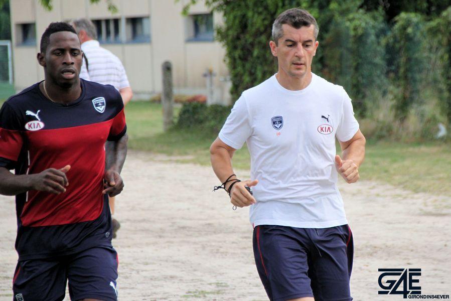 Footing André Poko et David Das Neves