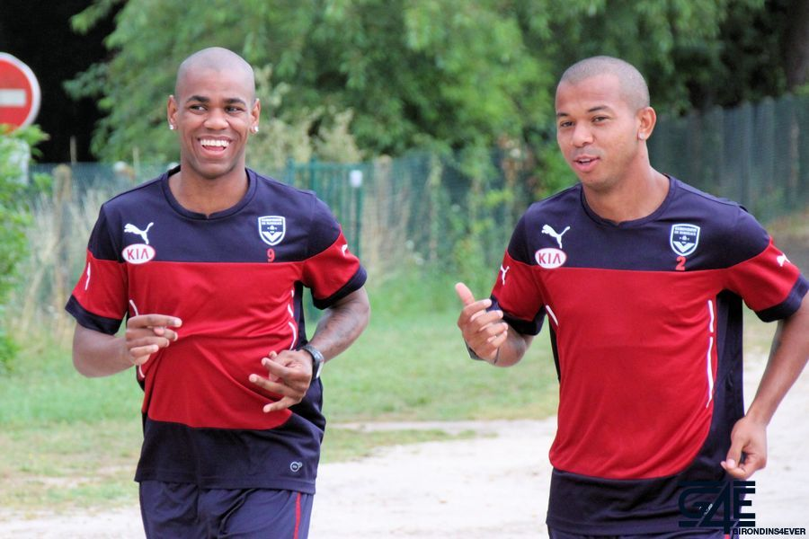 Diego Rolan et Mariano, rires, footing