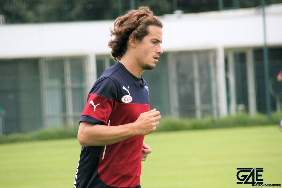 Lucas Orban termine le footing