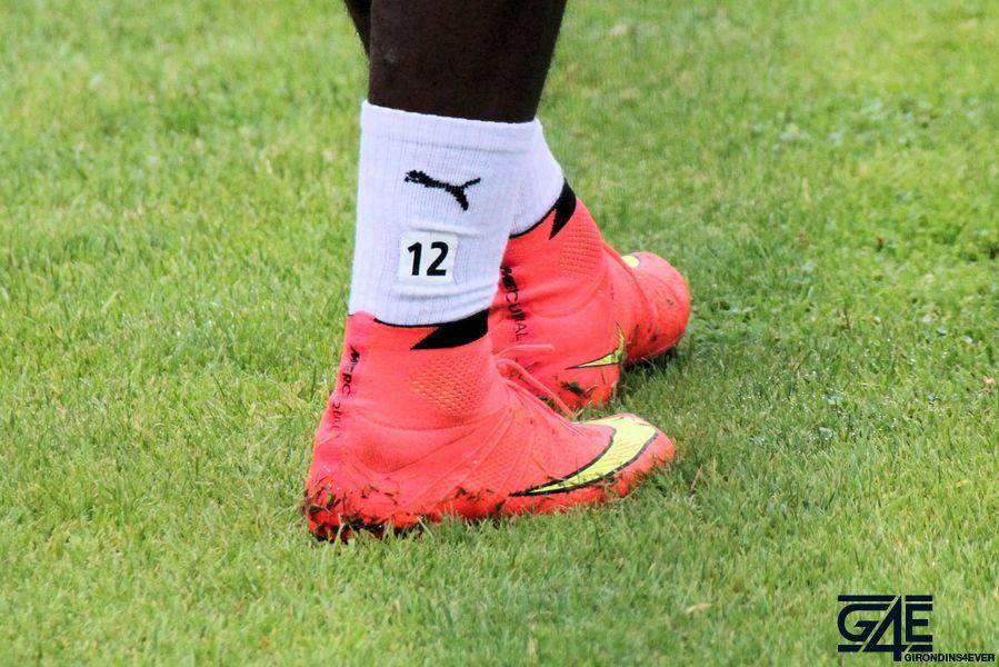 Chaussures d'Hadi Sacko