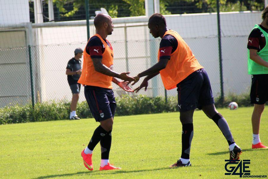 Julien Faubert et Abdou Traoré