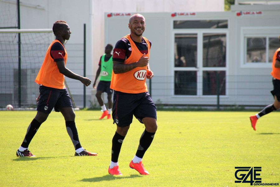 Julien Faubert souriant