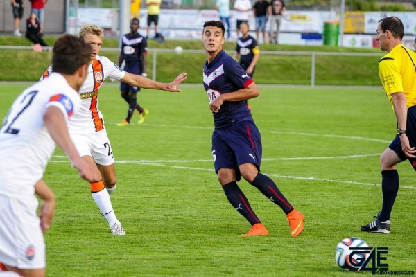 Younes Kaabouni distribue Shakhtar-Bordeaux
