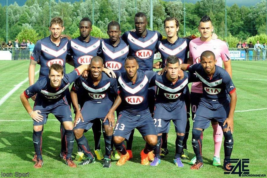 Photos équipe 2014-2015 Nice-Bordeaux IconSport