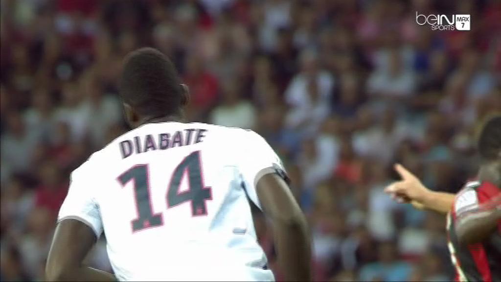Diabaté but penalty Nice