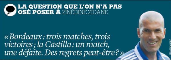 Question ZidaneFF