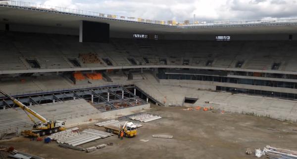 Screen Visite Nouveau Stade 29 aout 2014