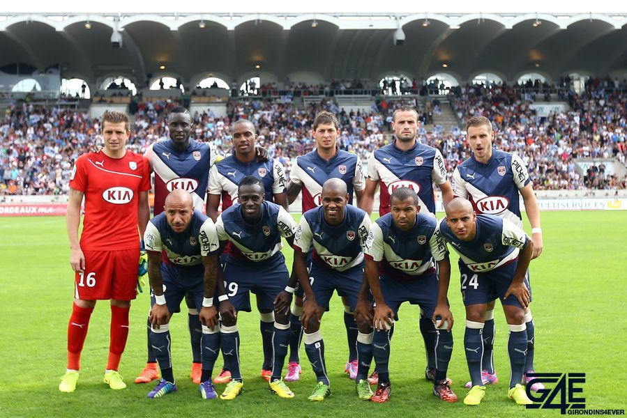 Photo Equipe Bordeaux 2014-2015