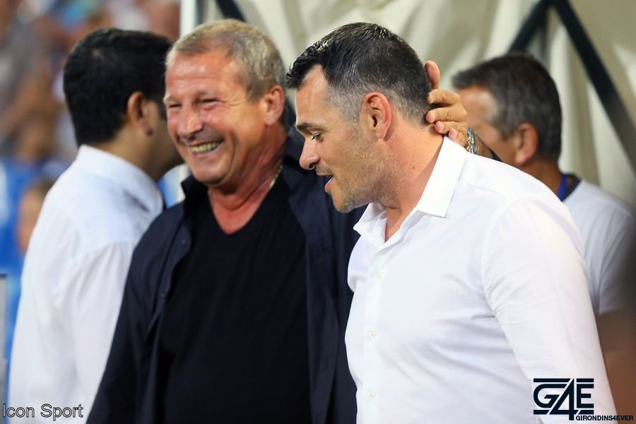 Willy Sagnol et Rolland Courbis iconsport_guy_090814_01_07