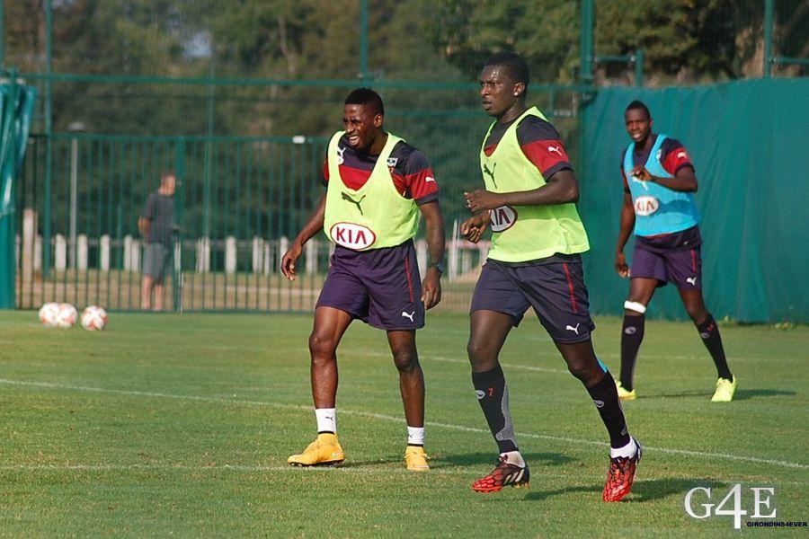André Poko et Abdou Traoré