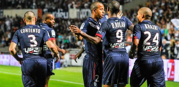 FOOTBALL : Bordeaux vs Evian - 6eme Journee de L1 - 19/09/2014