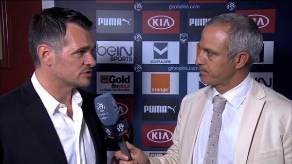 Alain Roche et Willy Sagnol Orange mobile