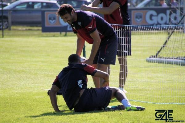 Marc Planus et Thomas Touré