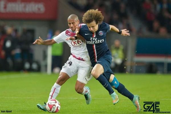 Wahbi Khazri et David Luiz