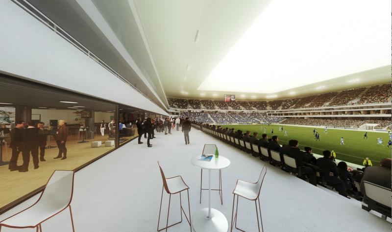 Stade visite virtuelle 360 des loges girondins4ever for Matmut salon
