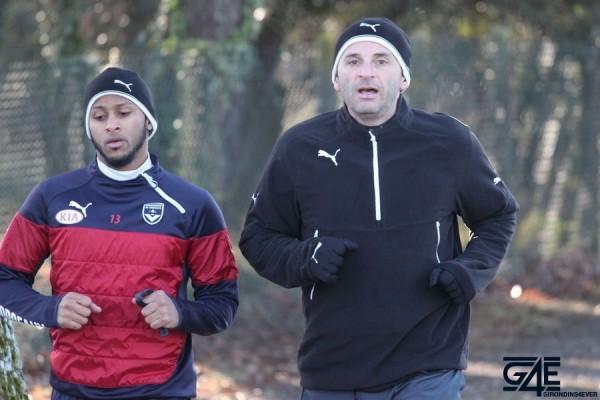 Patrick Guillou et Thomas Touré