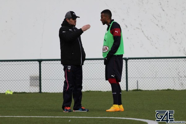 Isaac Kiese Thelin et Willy Sagnol