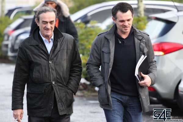 Jean-Louis Triaud et Willy Sagnol