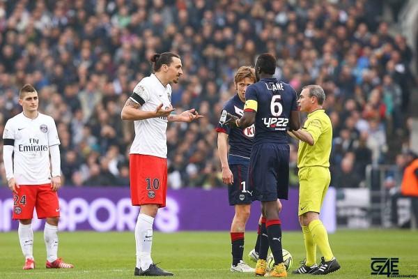 Zlatan Ibrahimovic, Lamine Sané, Lionel Jaffredo