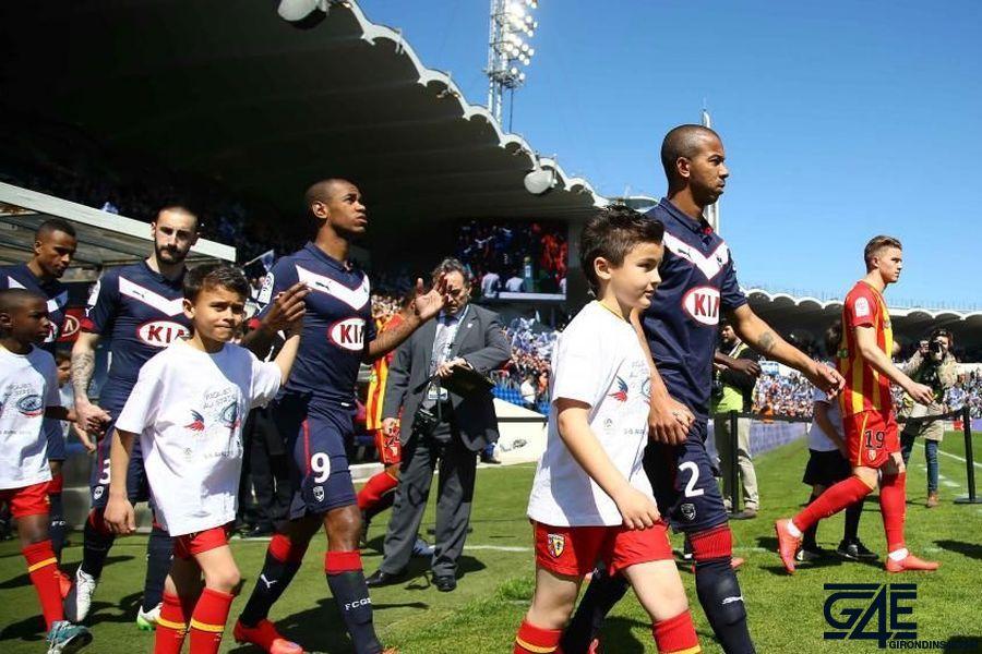 Entrée des joueurs Bordeaux-Lens iconsport
