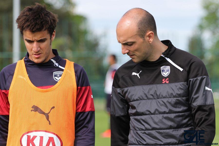 Sandy Guichard et Younes Kaabouni