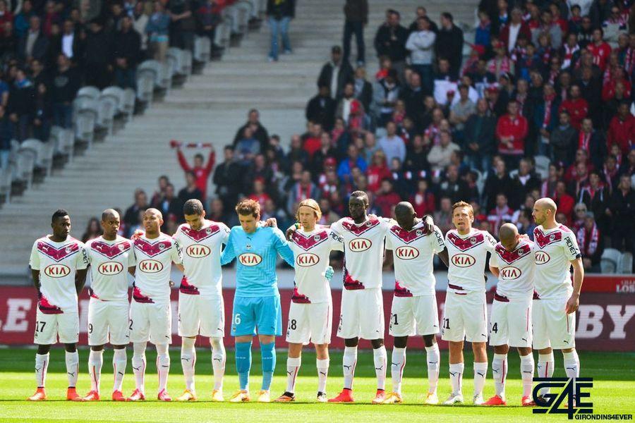 Groupe Bordeaux – une minute de silence pour Chloe