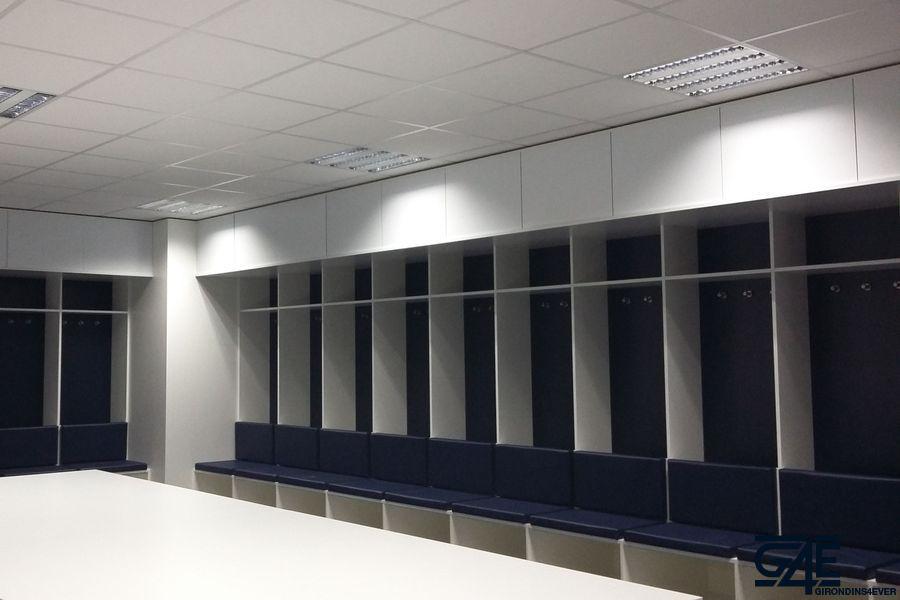 Vestiaires Nouveau Stade