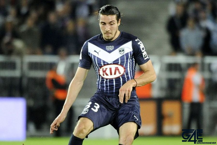 Enzo CRIVELLI   - 23.05.2015 - Bordeaux / Montpellier - 38eme journee Ligue 1 Photo : Nolwenn Le Gouic / Icon Sport