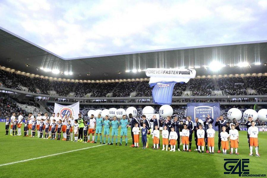Equipes Bordeaux Montpellier Nouveau Stade Iconsport