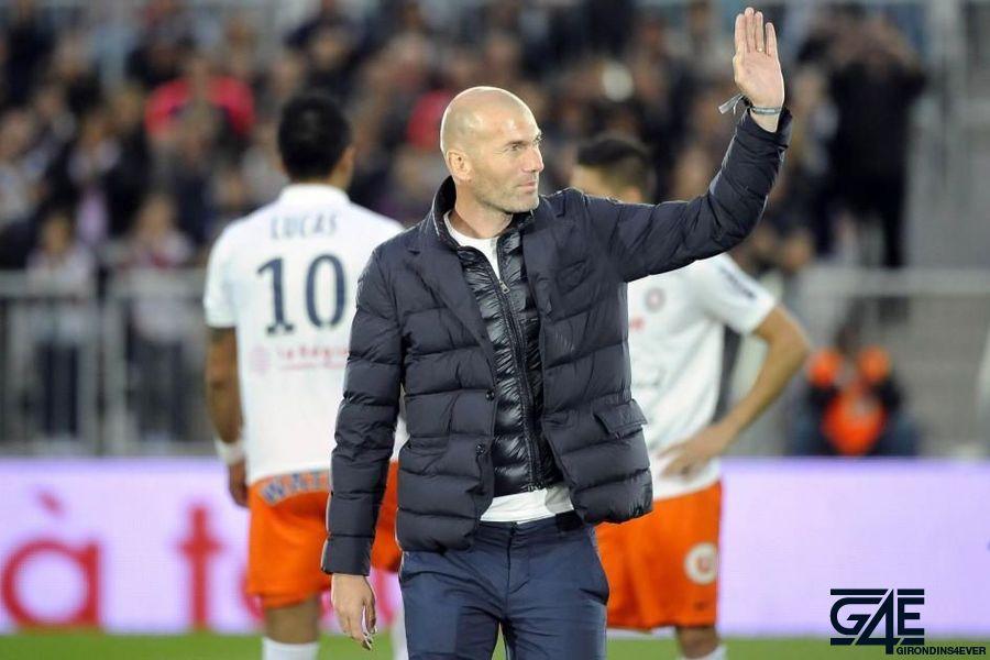 Zinedine Zidane Nouveau Stade iconsport