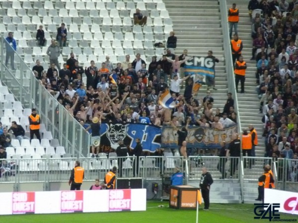 Nouveau Stade supporters Montpellier