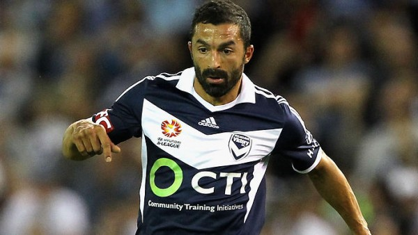 MELBOURNE, AUSTRALIA - DECEMBER 13: Fahid Ben Khalfallah of Victory controls the ball during the round 11 A-League match between Melbourne Victory and Sydney FC at Etihad Stadium on December 13, 2014 in Melbourne, Australia. (Photo by Robert Prezioso/Getty Images)