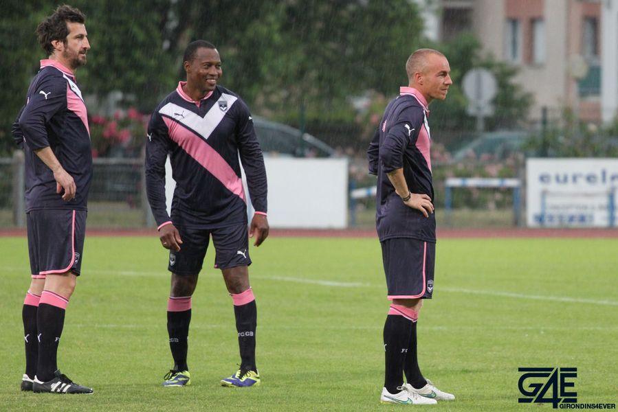 Lassina Diabaté, Johan Micoud et Matthieu Chalmé