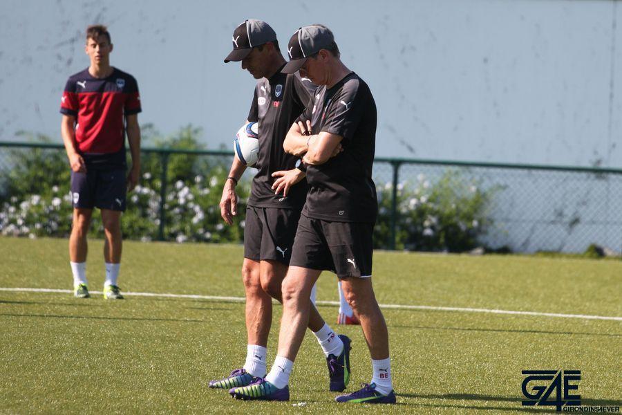 Franck Mantaux et Eric Bedouet