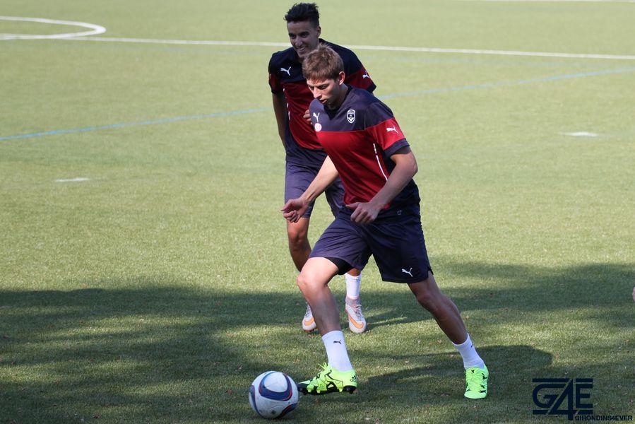 Emiliano Sala et Younes Kaabouni