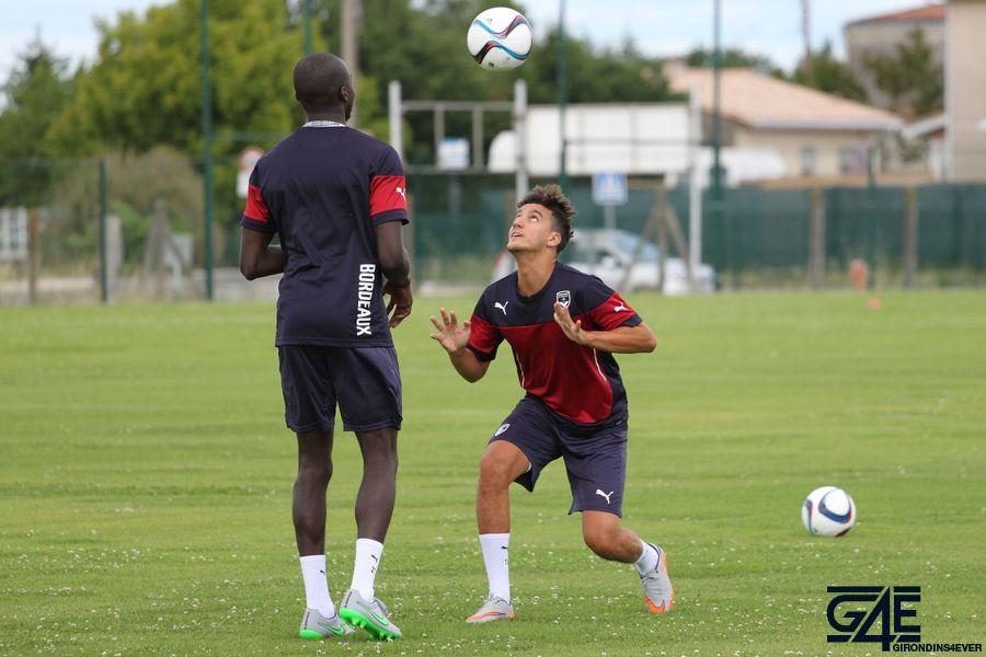 Cédric Yambéré et Younes Kaabouni