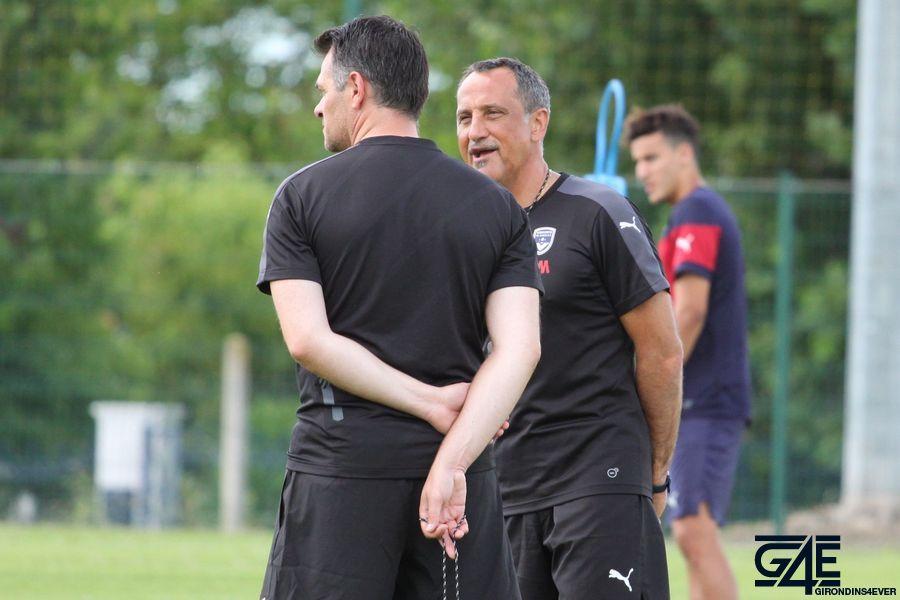 Willy Sagnol et Sylvain Matrisciano
