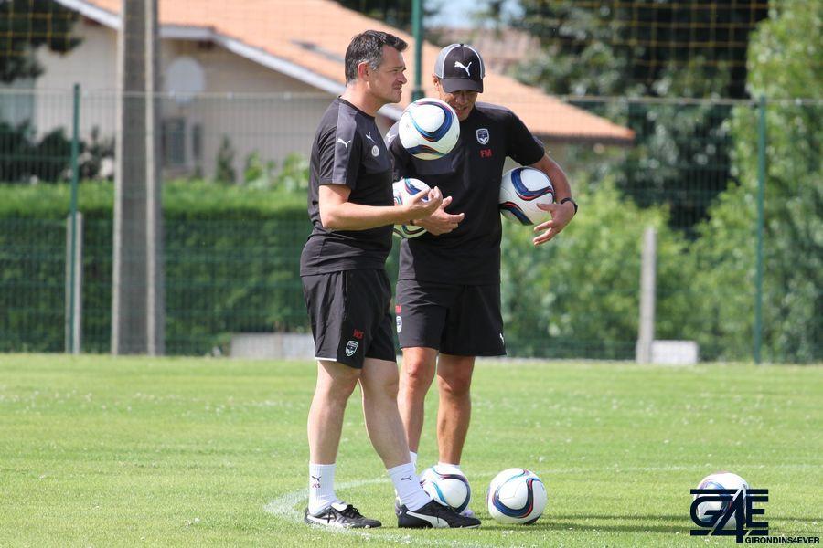 Willy Sagnol et Franck Mantaux