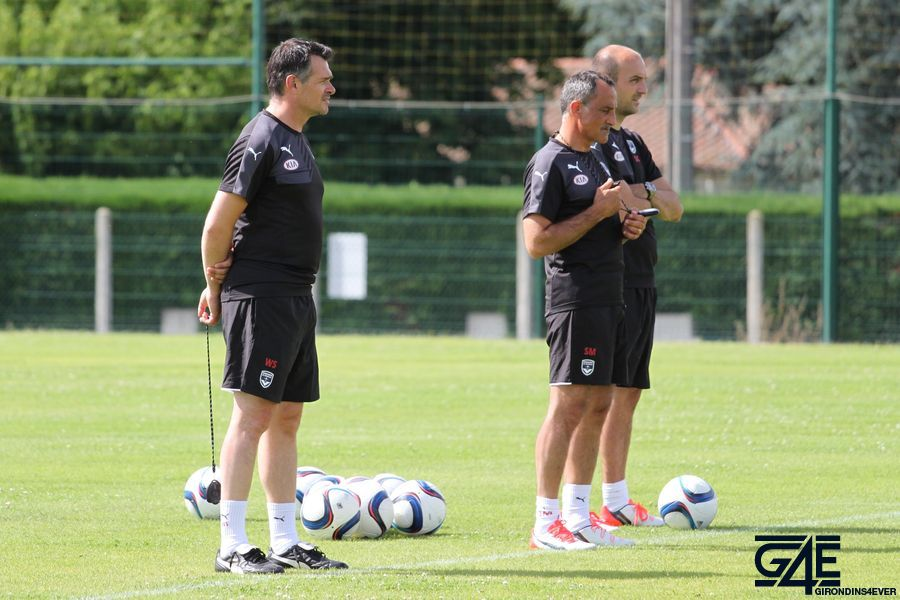 Willy Sagnol, Sylvain Matrisciano et Sansy Guichard