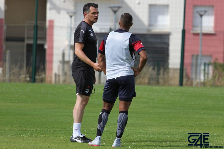 Willy Sagnol et Thomas Touré