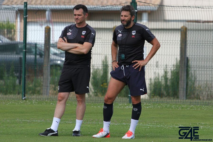 Willy Sagnol et Patrick Guillou