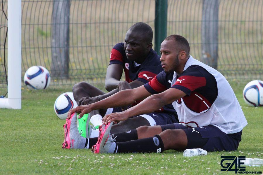 Thomas Touré et Cédric Yambéré
