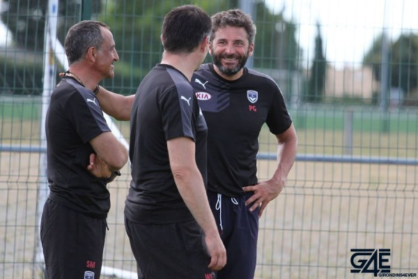 Willy Sagnol, Patrick Guillou et Sylvain Matrisciano